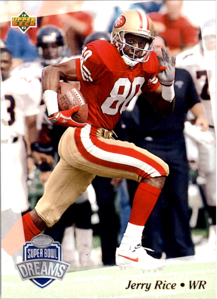 1992-93 Upper Deck NFL Experience #32 Jerry Rice