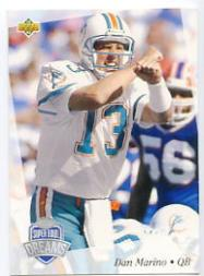 1992-93 Upper Deck NFL Experience Gold #22 Dan Marino