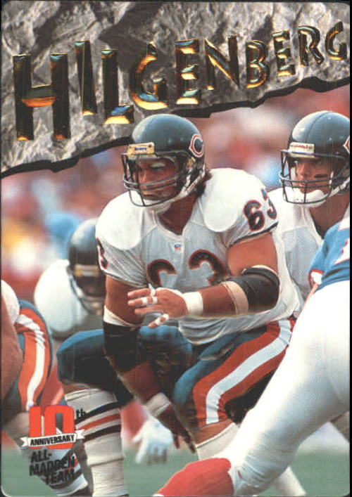 1993 Action Packed All-Madden #15 Jay Hilgenberg