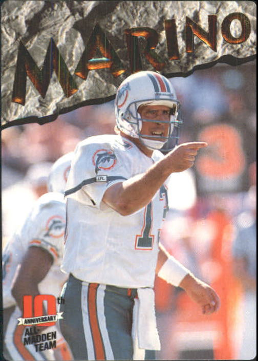 1993 Action Packed All-Madden #21 Dan Marino