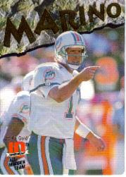 1993 Action Packed All-Madden 24K Gold #4G Dan Marino