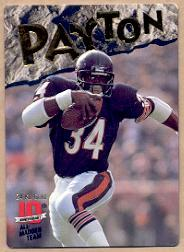 1993 Action Packed All-Madden 24K Gold #6G Walter Payton