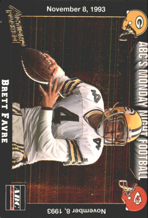 1993 Action Packed Monday Night Football #38 Brett Favre