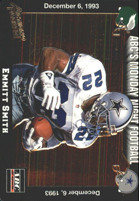 1993 Action Packed Monday Night Football #59 Emmitt Smith