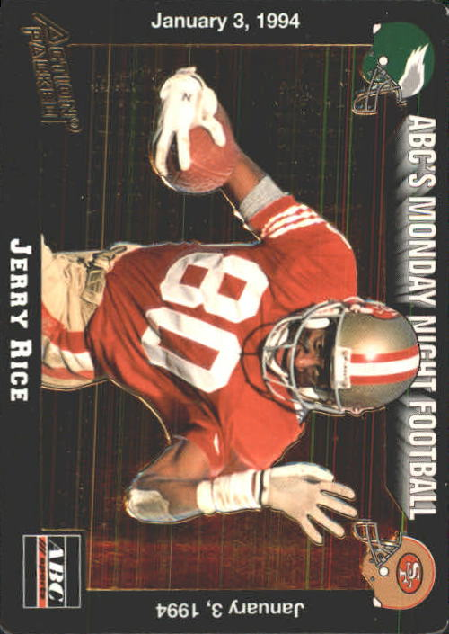 1993 Action Packed Monday Night Football #78 Jerry Rice