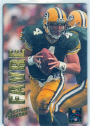 1993 Action Packed Quarterback Club Mint #QB5 Brett Favre