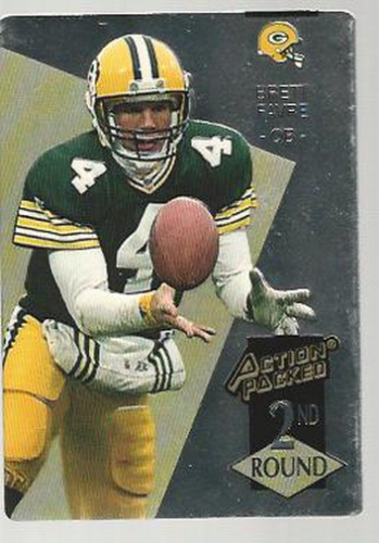 1993 Action Packed Rookie Update Previews #RU2 Brett Favre