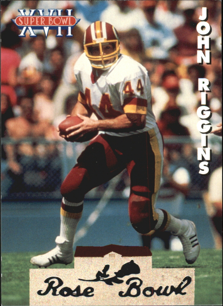 1993 Heads and Tails SB XXVII #SB10 John Riggins