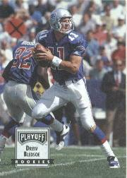 1993 Playoff Contenders Promos #1 Drew Bledsoe