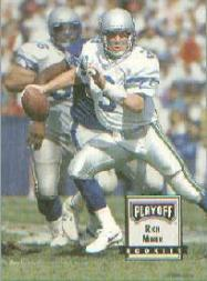 1993 Playoff Contenders Promos #3 Rick Mirer