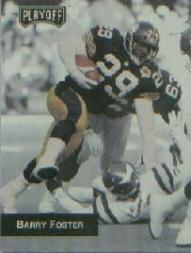 1993 Playoff Promos #2 Barry Foster