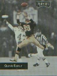1993 Playoff Promos #3 Quinn Early