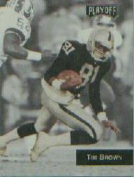 1993 Playoff Promos #4 Tim Brown