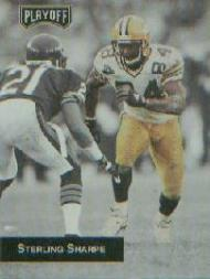1993 Playoff Promos #6 Sterling Sharpe