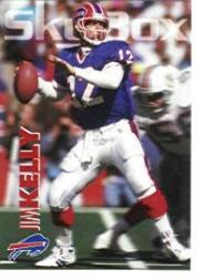 1993 SkyBox Impact Promos #IP1 Jim Kelly