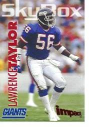 1993 SkyBox Impact Promos #IP2 Lawrence Taylor
