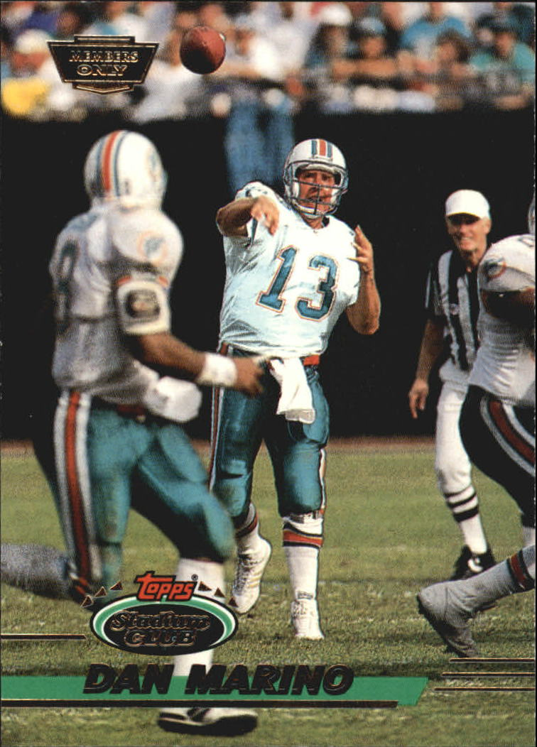 1993 Stadium Club Members Only Parallel #60 Dan Marino