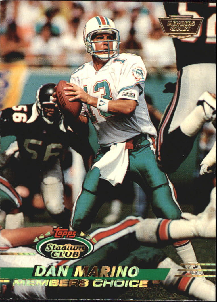 1993 Stadium Club Members Only Parallel #246 Dan Marino MC