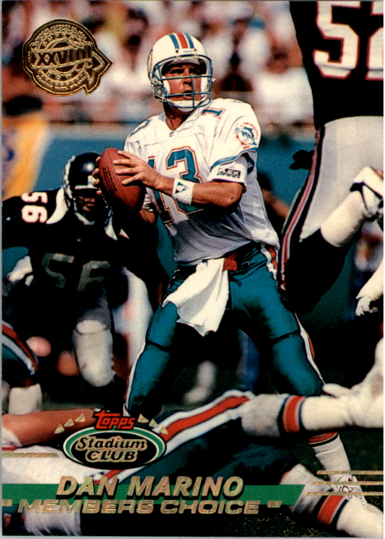 1993 Stadium Club Super Teams Super Bowl #246 Dan Marino MC