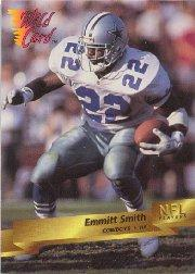 1993 Wild Card Prototypes #P19 Emmitt Smith