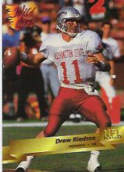 1993 Wild Card Prototypes #P21 Drew Bledsoe