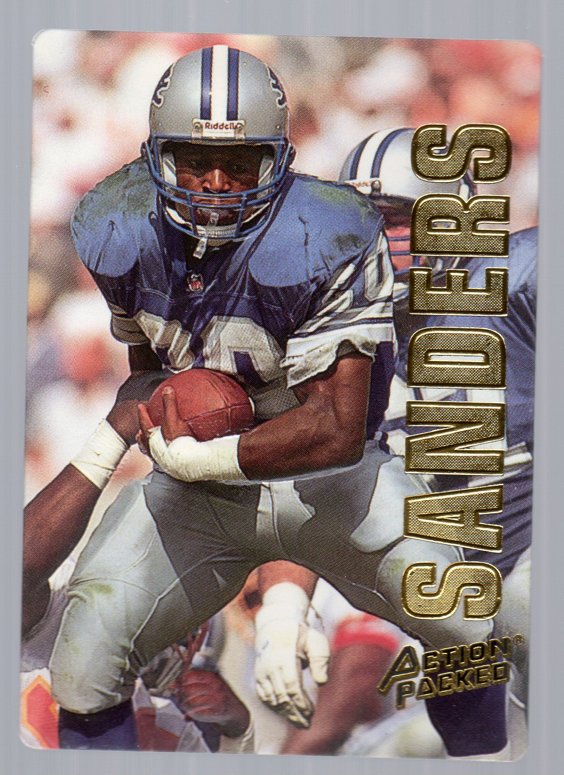 1993 Action Packed #15 Barry Sanders