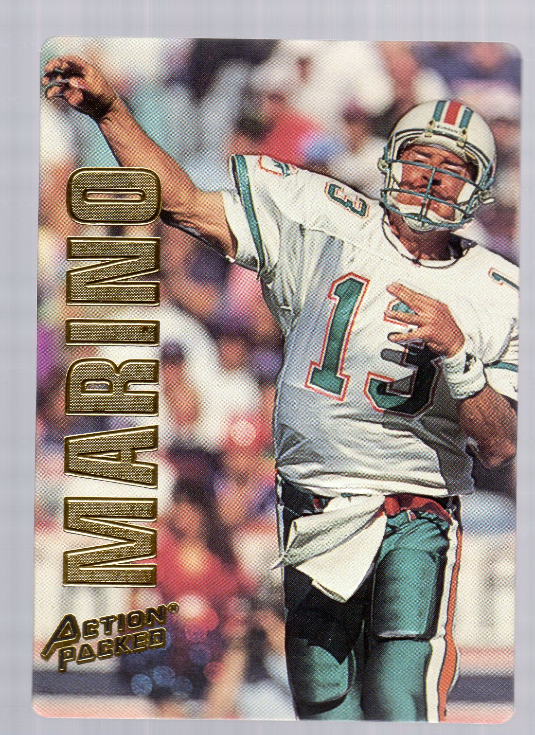 1993 Action Packed #26 Dan Marino