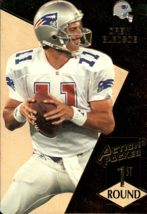 1993 Action Packed #163 Drew Bledsoe RC
