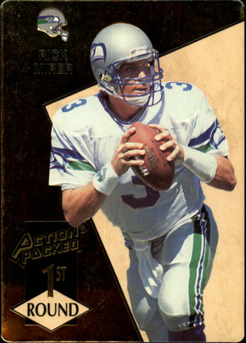 1993 Action Packed #164 Rick Mirer RC