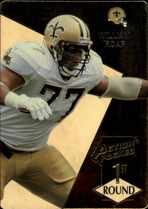 1993 Action Packed #170 Willie Roaf RC