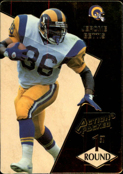1993 Action Packed #172 Jerome Bettis RC