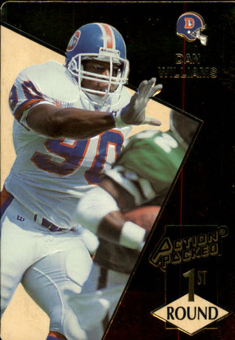 1993 Action Packed #173 Dan Williams RC
