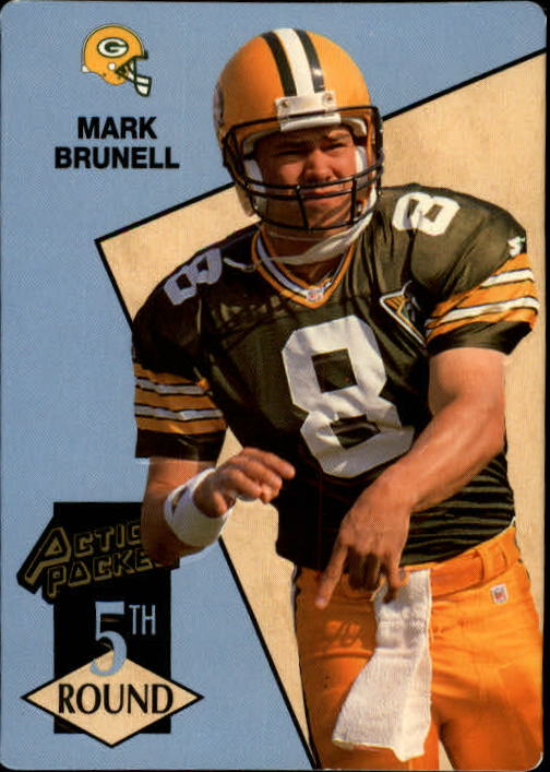 1993 Action Packed #218 Mark Brunell RC
