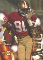 1993 Action Packed Moving Targets #MT10 Jerry Rice