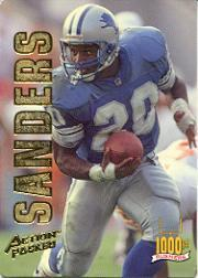 1993 Action Packed Rushers #RB7 Barry Sanders