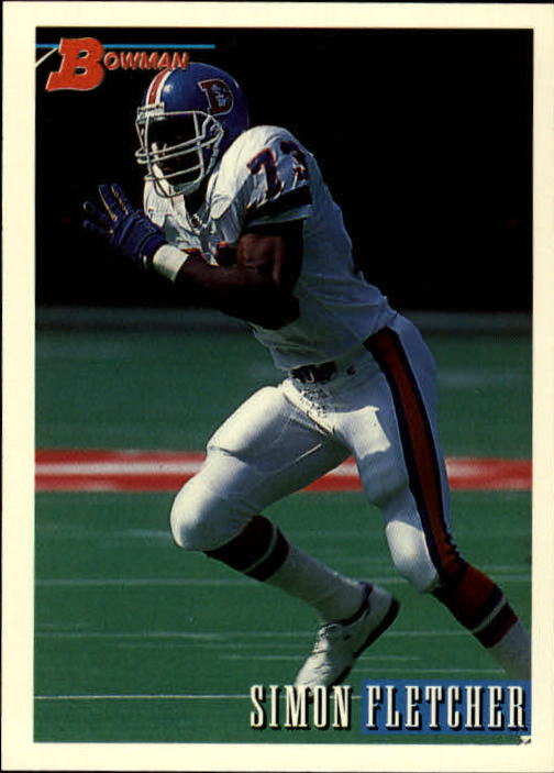 1993 Bowman #13 Simon Fletcher
