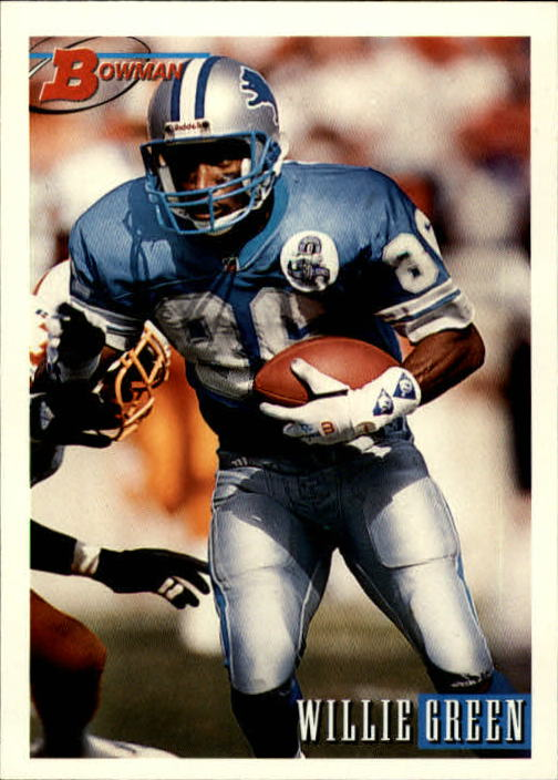 1993 Bowman #14 Willie Green