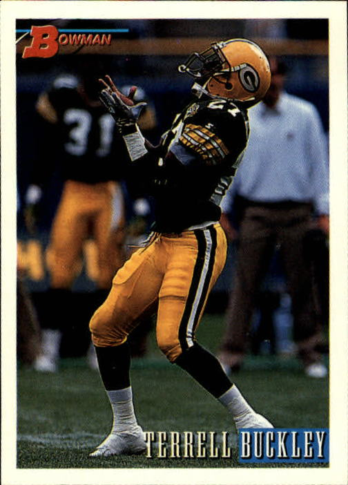 1993 Bowman #55 Terrell Buckley