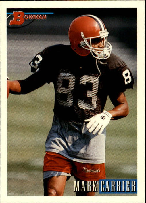 1993 Bowman #66 Mark Carrier WR