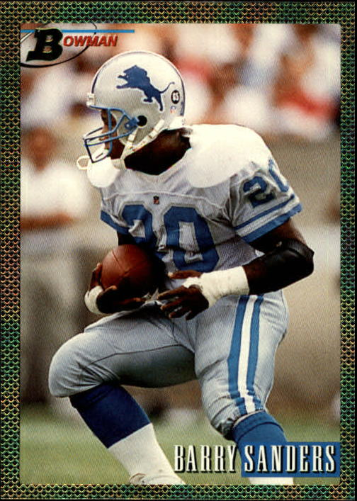 1993 Bowman #140 Barry Sanders FOIL