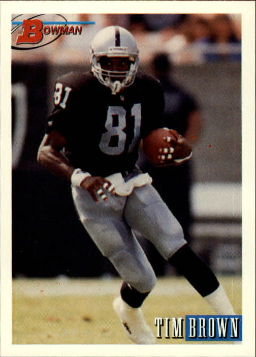 1993 Bowman #186 Tim Brown