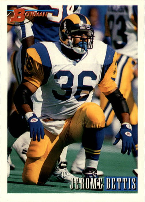 1993 Bowman #264 Jerome Bettis RC