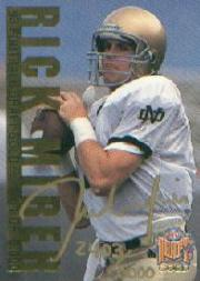 1993 Classic #AU3 Rick Mirer AU/5000