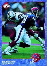 1993 Collector's Edge #18 Bruce Smith