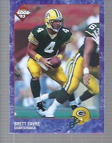 1993 Collector's Edge #76 Brett Favre
