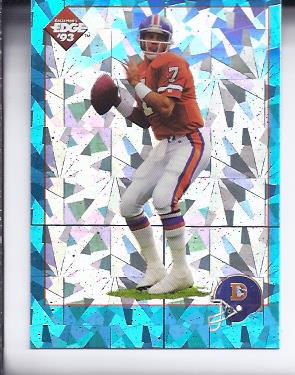 1993 Collector's Edge Elway Prisms #E2 John Elway