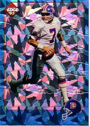 1993 Collector's Edge Elway Prisms #E5 John Elway