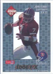 1993 Collector's Edge Rookies FX #11 John Elway