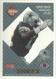 1993 Collector's Edge Rookies FX #20 Emmitt Smith UER