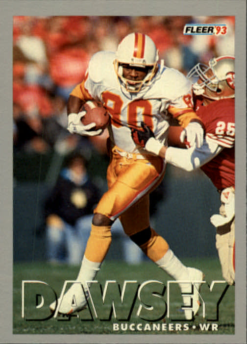 1993 Fleer #48 Lawrence Dawsey